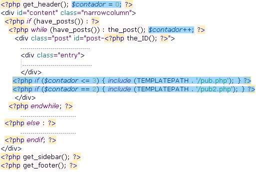 Cödigo PHP